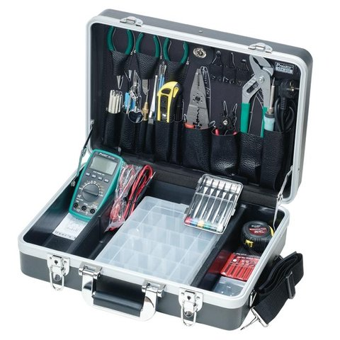 Большой набор монтажных инструментов Pro'sKit 1PK-850B (220 В) Превью 2