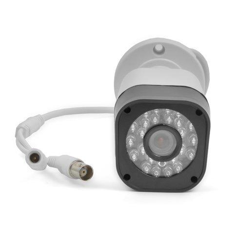 Комплект: мережевий відеореєстратор MACK0410 та 4 AHD-камери спостереження (720p, 1 МП) Прев'ю 1
