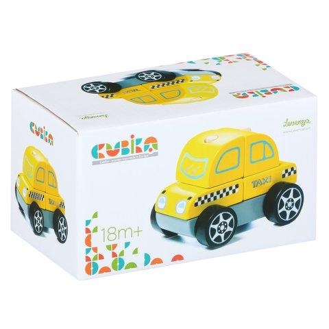 Деревянный конструктор CUBIKA Такси LM-6