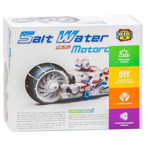 Робот-мотоцикл на енергії солоної води, STEM-конструктор CIC 21-753 Прев'ю 11
